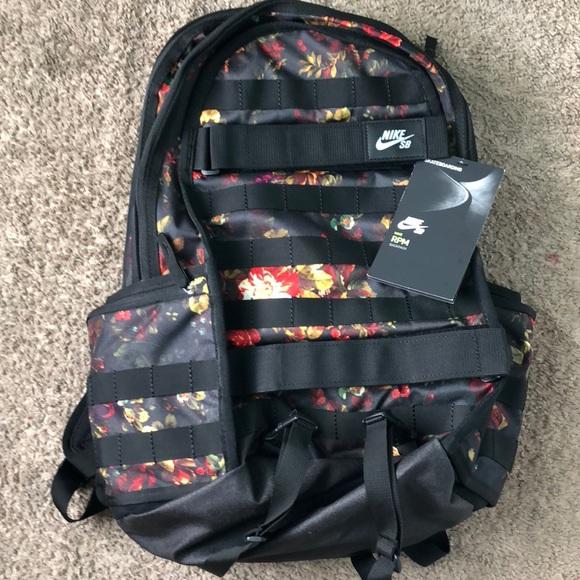 4426772f1ef5 Nike sb floral print backpack